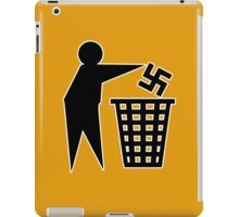 anti nazi human respect against racism iPad Case/Skin