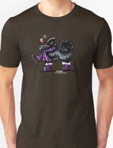 Black Pomeranian Winter Magic T-Shirt