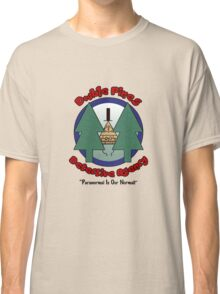 Double Pines Detective Agency Classic T-Shirt