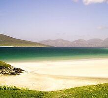 Immaculate White Sands - Seilebost Beach by MidnightMelody
