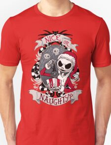 Scary Santa Unisex T-Shirt