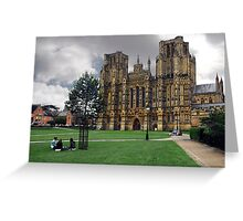 Wells Cathedral Greeting Card