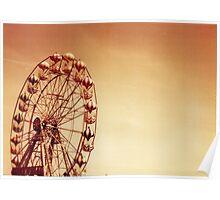 Unridden Wheel Poster