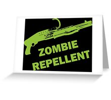 Zombie Repellent Greeting Card