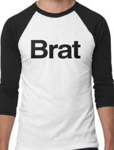 BRAT (as seen on Robert Downey Jr) Men's Baseball ¾ T-Shirt
