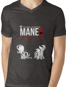 Mane 6 Ponies Mens V-Neck T-Shirt