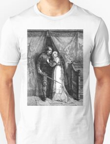 Viking Hero Etching Vintage T-Shirt