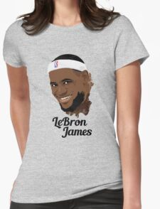 LeBron James  Womens Fitted T-Shirt