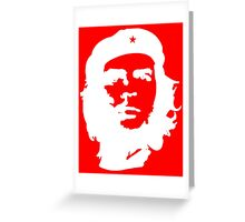 Che, Guevara, Rebel, Cuba, Peoples Revolution, Freedom, in white Greeting Card