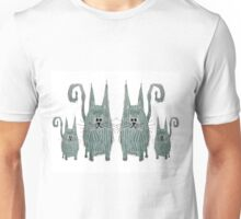 Surprised Cats Unisex T-Shirt