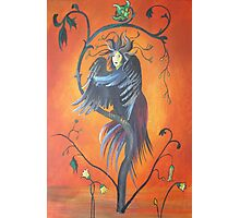 Gamaun The Prophetic Bird With Ruffled Feathers Photographic Print