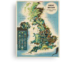 Vintage poster - Great Britain Canvas Print