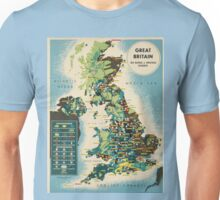 Vintage poster - Great Britain Unisex T-Shirt