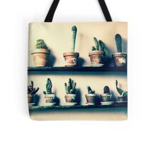 CACTUS IN ROW!!! Flowers Tote Bag