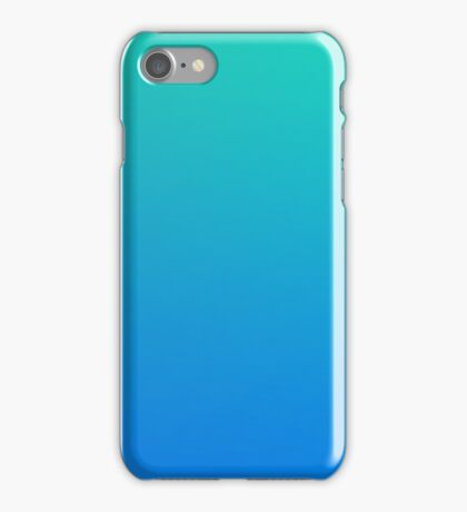 AQUAMARINE - Plain Color iPhone Case and Other Prints iPhone Case/Skin
