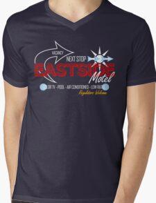 Eastside Motel Mens V-Neck T-Shirt