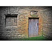The old door Photographic Print