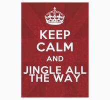 Keep calm and jingle all the way One Piece - Short Sleeve