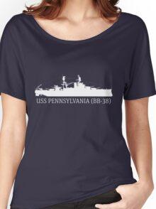 USS Pennsylvania - W Women's Relaxed Fit T-Shirt