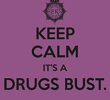 Keep Calm, It's a Drugs Bust. by amylikespie