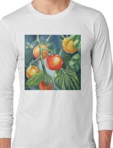 Cherry Tomatoes Long Sleeve T-Shirt