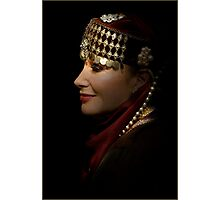 portrait of a gypsy woman Photographic Print
