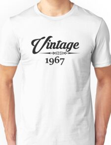 Vintage 1967 Unisex T-Shirt