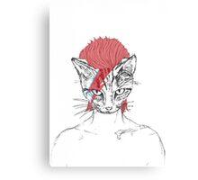 Ziggy_Starcat Canvas Print