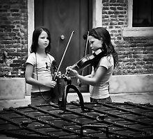 Violin Twins - Venice by Lightengr