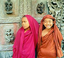 Young Monks © by Ethna Gillespie