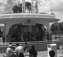 BW USA California disneyland Entertainment Committee 1970s by blackwhitephoto