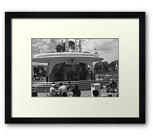 BW USA California disneyland Entertainment Committee 1970s Framed Print