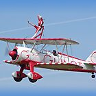 Wingwalking - Shoreham Airshow 2009 by Colin J Williams Photography