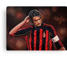 Paolo Maldini painting Canvas Print