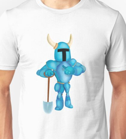 Shovel Knight Pose Unisex T-Shirt