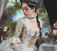 """Polonaise"" Duchesse de Polignac Painting by Analisa Ravella"