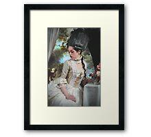 """Polonaise"" Duchesse de Polignac Painting Framed Print"