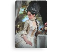 """""""Polonaise"""" Duchesse de Polignac Painting Canvas Print"""