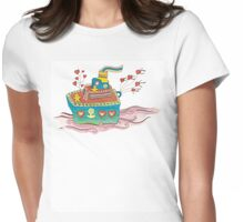 Valentine's Day T-Shirt Womens Fitted T-Shirt