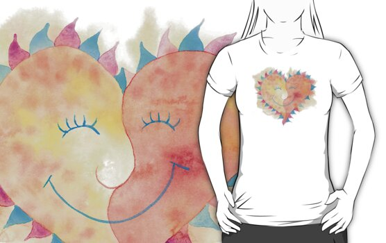 Valentine's Day Love T-Shirt by HolidayT-Shirts