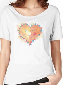 Valentine's Day Love T-Shirt Women's Relaxed Fit T-Shirt