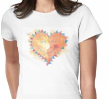 Valentine's Day Love T-Shirt Womens Fitted T-Shirt