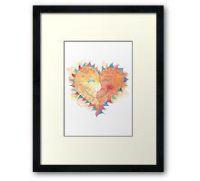 Valentine's Day Love T-Shirt Framed Print