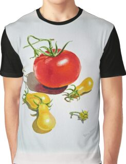 Tomatoes Dance Graphic T-Shirt