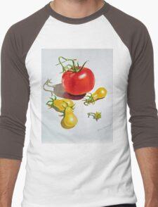 Tomatoes Dance Men's Baseball ¾ T-Shirt