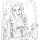 Desdemona by redqueenself