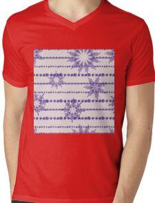 Vector abstract seamless pattern Mens V-Neck T-Shirt