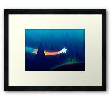 Messenger Of Joy Framed Print