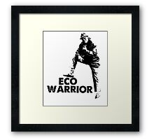 The Fast Show - Dave Angel, Eco Warrior Framed Print