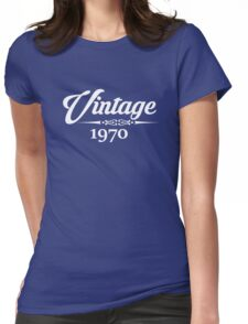 Vintage 1970 Womens Fitted T-Shirt